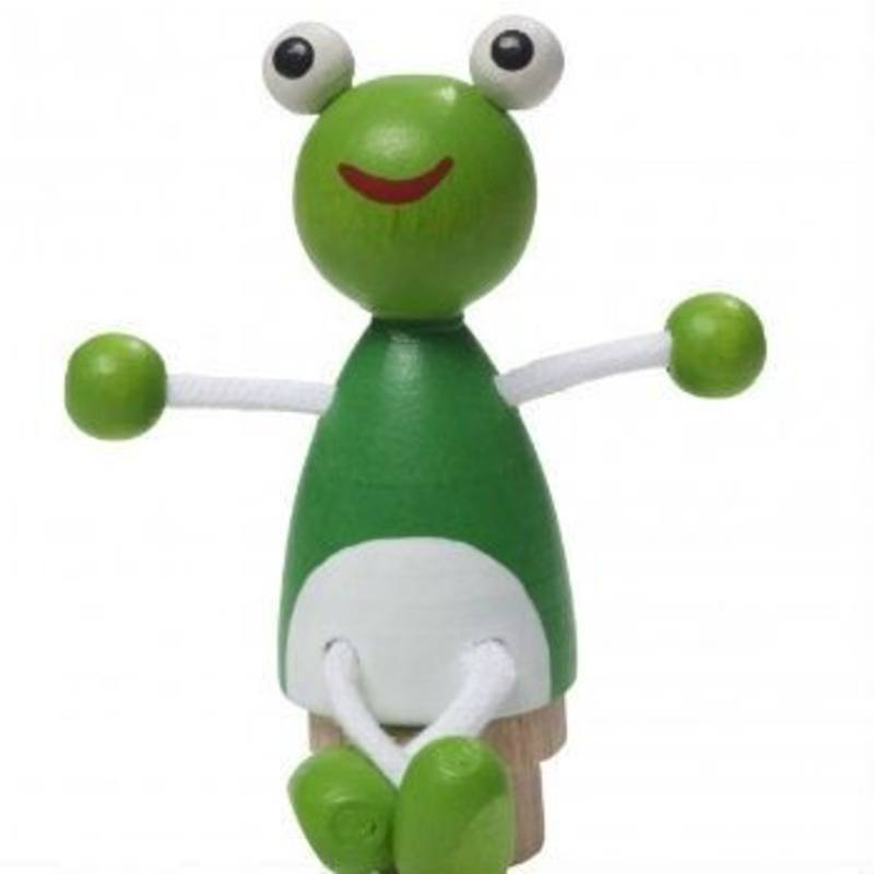 Frog Figurine for Birthday Rings + Candle Stands