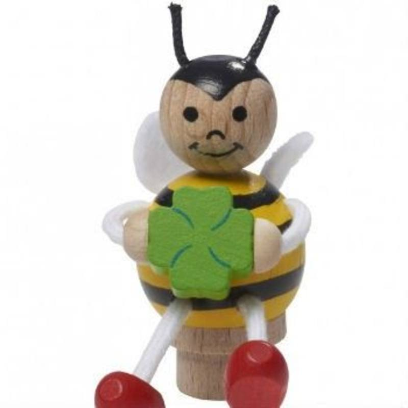 Bee Figurine for Birthday Rings + Candle Stands