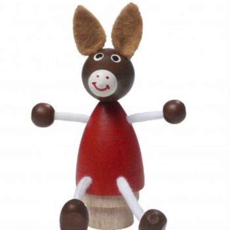 Donkey Figurine for Birthday Rings + Candle Stands