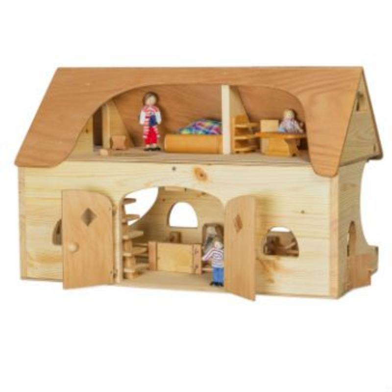 Verneuer Wooden Doll House - Farmstead and Stable