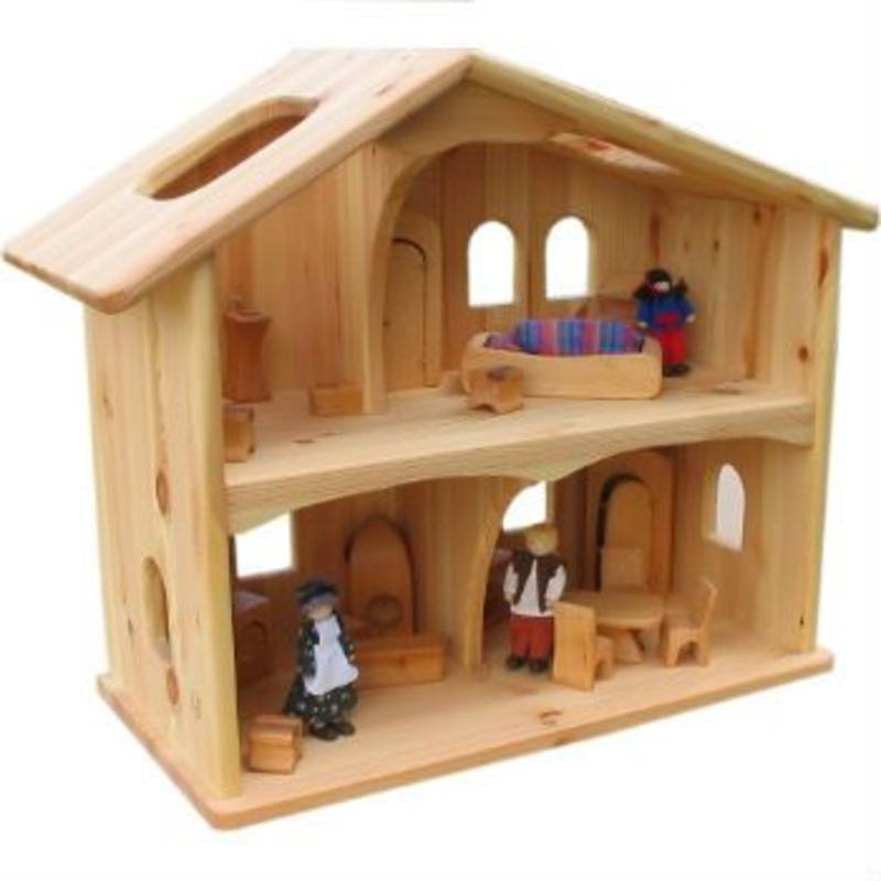 Verneuer Wooden Doll House - Two Story