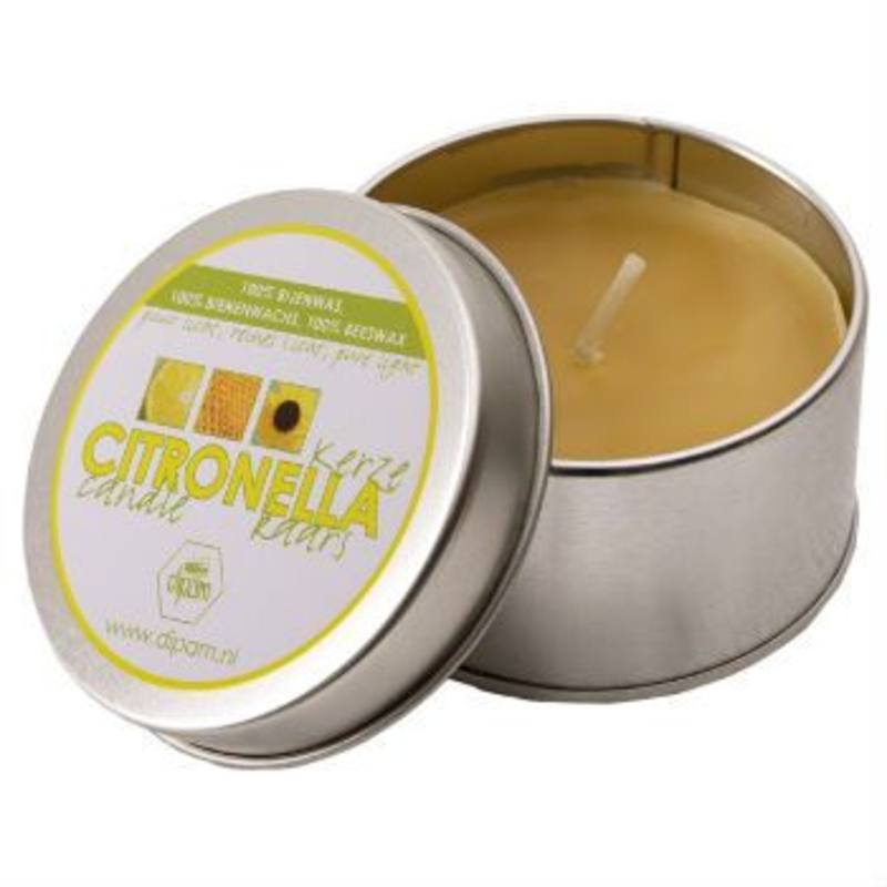 Dipam Beeswax Citronella Candle in Tin CK