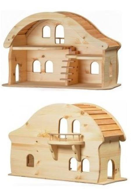 Buy Verneuer Wooden Doll House with Balcony in Australia.