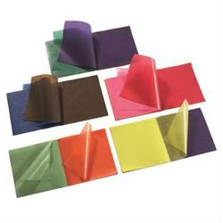 Buy Waxed Kite Paper Assorted Colours 16x16cm - 5 x 100 sheets in AU Australia.