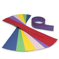 Buy Coloured Crown Paper - 63x6cm 48 Strips 6 colours mixed NEW in AU Australia.