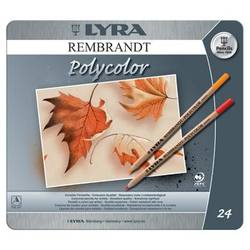 Buy Lyra Rembrandt Polycolour Tin 24 Assorted 2001240 in AU Australia.