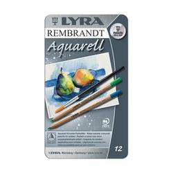 Buy Lyra Rembrandt Aquarelle Watercolour Pencil Tin 12 Assorted 2011120 in AU Australia.