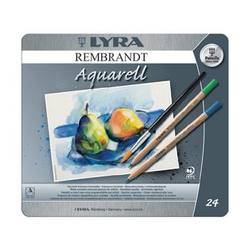 Buy Lyra Rembrandt Aquarelle Watercolour Pencil Tin 24 Assorted 2011240 in AU Australia.
