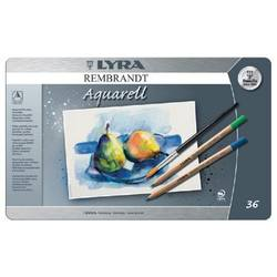Buy Lyra Rembrandt Aquarelle Watercolour Pencil Tin 36 Assorted 2011360 in AU Australia.