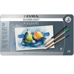 Buy Lyra Rembrandt Aquarelle Watercolour Pencil Tin 72 Assorted 2011720 in AU Australia.