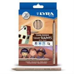 Buy Lyra colour giants skin tones 12 asst 3931124 in AU Australia.