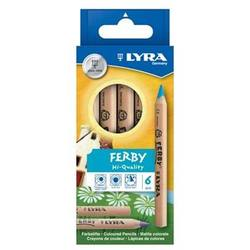 Buy Lyra Ferby (short) Standard 6 assorted unlacquered 3611060 in AU Australia.