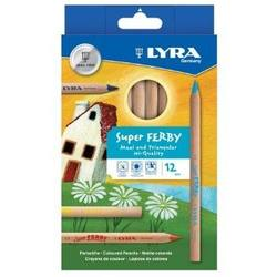 Buy Lyra Super Ferby unlacquered standard mix 12 colours 3711120 in AU Australia.