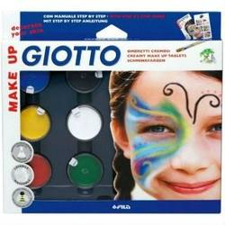 Buy Giotto Creamy Make Up Tablets Basic 6 colours SPECIAL ORDER D in AU Australia.