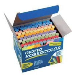 Buy Giotto Robercolor Dustless Blackboard Chalk - 100pc Assorted Colours SPECIAL ORDER D in AU Australia.