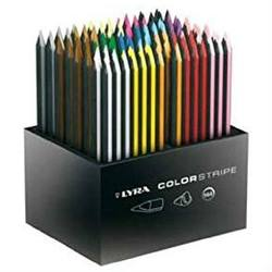 Buy Lyra Colorstripe 144 asst colours in wooden display CLEARANCE D in AU Australia.