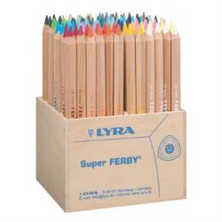 Buy Lyra Super Ferby box of 96 unlacquered pencils 3712960 SPECIAL ORDER in AU Australia.