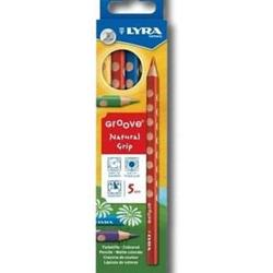 Buy Lyra Groove Coloured Pencils- 5 Pencil pk 3811050 in AU Australia.