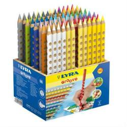 Buy Lyra Groove Coloured Pencils 96 pencils wooden display DISCOUNTED D in AU Australia.