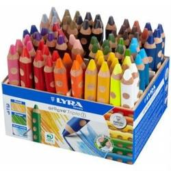 Buy Lyra Groove TripleOne- 72 Assorted Pencils with Display in AU Australia.