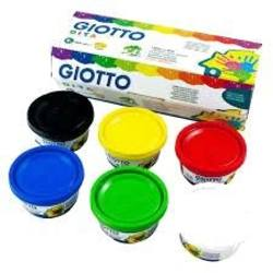 Buy Giotto Finger Paint 6-colour assortment 100ml in AU Australia.