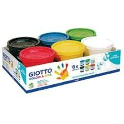 Buy Giotto Finger Paint 6-colour assortment 200ml in AU Australia.