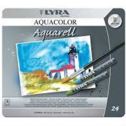 Buy Lyra Aquacolor Watercolour Artist Crayons 24 Colours in Tin SAVE 40% in AU Australia.