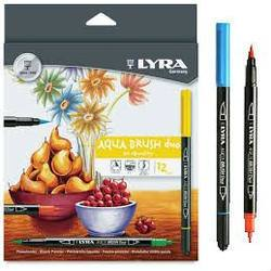 Buy Lyra Aqua Brush Duo - 12 pk in AU Australia.
