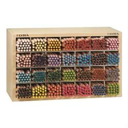 Buy EMPTY Wooden Display for Lyra Colour Giants 28 holes each fits 24 pencils in AU Australia.