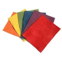 Buy Organic Plant Dyed Wool Felt 20x15cm 6 Sheets - Basic Assortment in AU Australia.