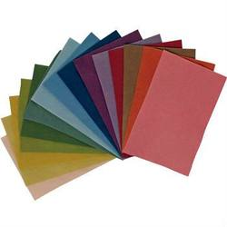 Buy Organic Plant Dyed Wool Felt 20x30cm 15 Sheets Assorted Colour Pack in AU Australia.