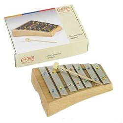 Buy Choroi Glockenspiel / Xylophone Carillon Pentatonic 7 Steel Plates with Mallet in AU Australia.