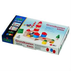 Buy Cubio Wooden Building Blocks Small Basic Set 44 pcs in AU Australia.