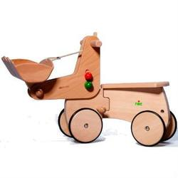 Buy Wooden Ride On CombiCar - Excavator Attachment SPECIAL ORDER in AU Australia.
