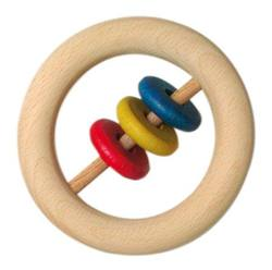 Buy Wooden 8cm ring with disks big (Minimum 5pcs) price per item in AU Australia.