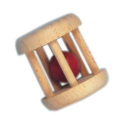 Buy Wooden Cage Rattle with Red Ball single in AU Australia.