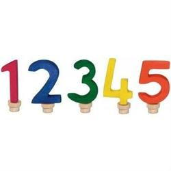 Buy Gluckskafer Wooden Birthday Numbers Set 1 2 3 4-5 (5 pcs) in AU Australia.
