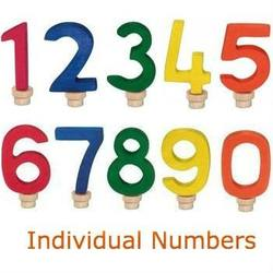 Buy Gluckskafer Wooden Birthday Number Individual Numbers in AU Australia.