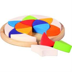 Buy Colour Wheel Sun Mandala Block Set with Tray (18pcs) D CLEARANCE PRICE in AU Australia.