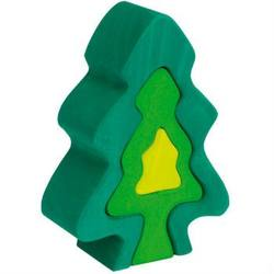 Buy Gluckskafer Wooden Blocks - Fir tree 6 pcs 18cm high in AU Australia.