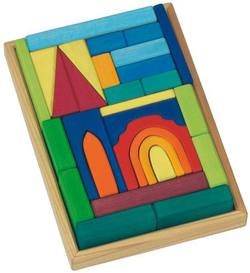 Buy Wooden Puzzle Blocks - Church w tray 29 pieces SO in AU Australia.
