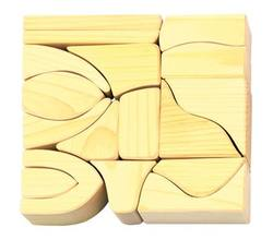 Buy Gluckskafer Wooden Blocks 17 pcs natural small 4cm wide D in AU Australia.
