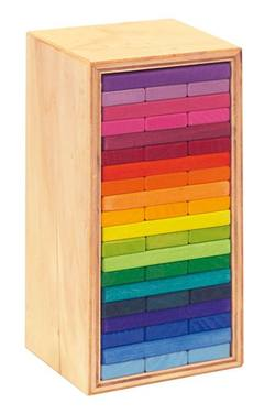 Buy Building Slats 'Tower in a Box' coloured 60 parts in AU Australia.