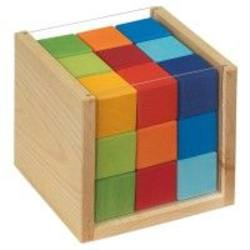 Buy Coloured Cubes in a Box 14 x 14 x 13 cm in AU Australia.