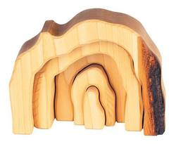 Buy Wooden Grotto set 5 parts natural in AU Australia.