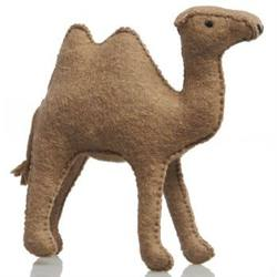 Buy Camel Large Handmade with Wool Felt 14cm in AU Australia.