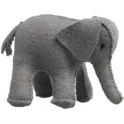 Buy Elephant Handmade with Wool Felt Large 7.5cm in AU Australia.