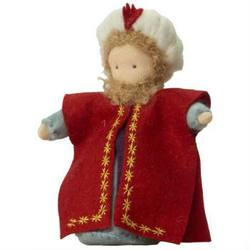 Buy King Melchior Red  Handmade with Wool Felt  12.5cm SPECIAL ORDER in AU Australia.