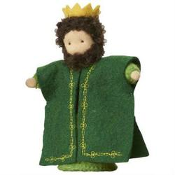 Buy King Balthazar Green Handmade w Wool Felt 12.5cm SPECIAL ORDER in AU Australia.