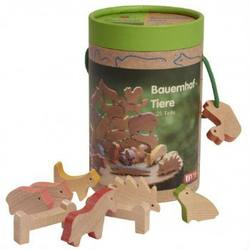 Buy Wooden Farm Animal Set 25 pieces in AU Australia.